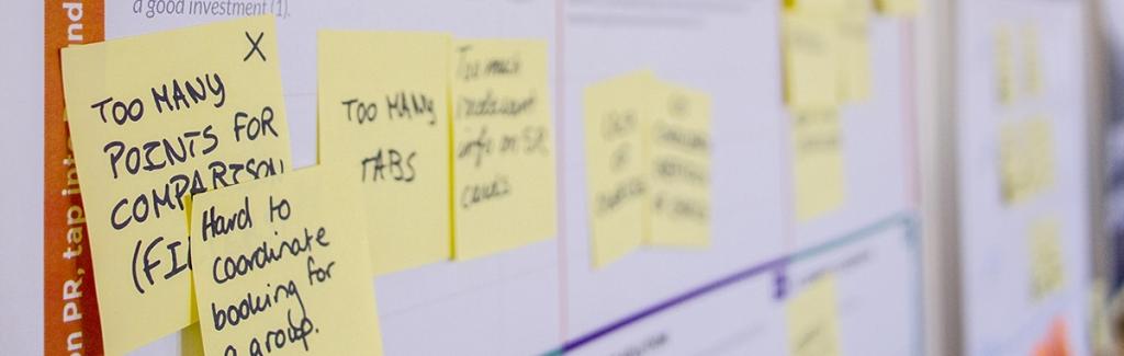 Design sprint al primo appuntamento con i nostri clienti: una garanzia